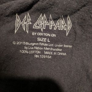 Cotton On Tops - Def Leppard Hysteria '87 Muscle Tee